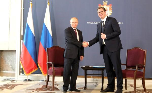 Путину в Сербии подарили пор…