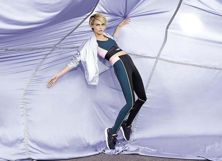 Будь собой: Селена Гомес и Кара Делевинь в новой рекламной кампании Puma Мода / Новости моды