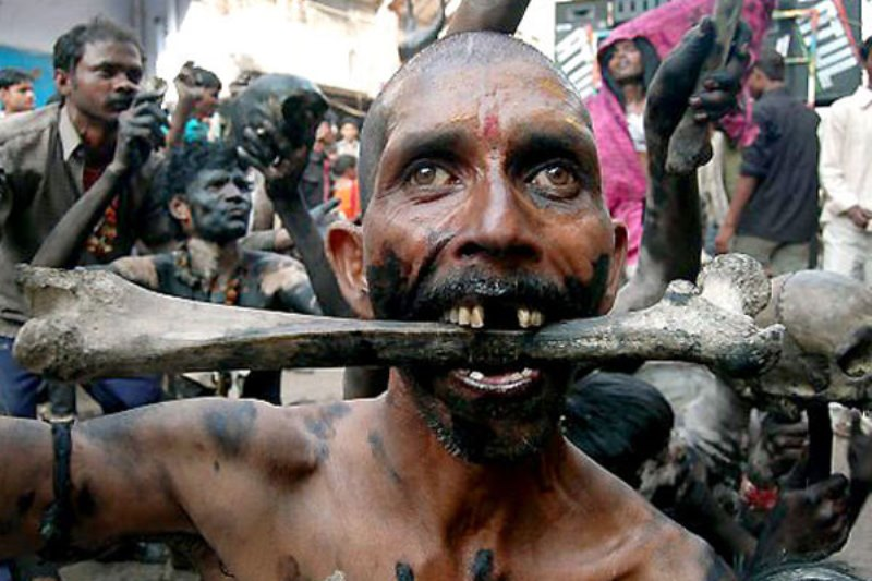 Агхори: святые каннибалы или…