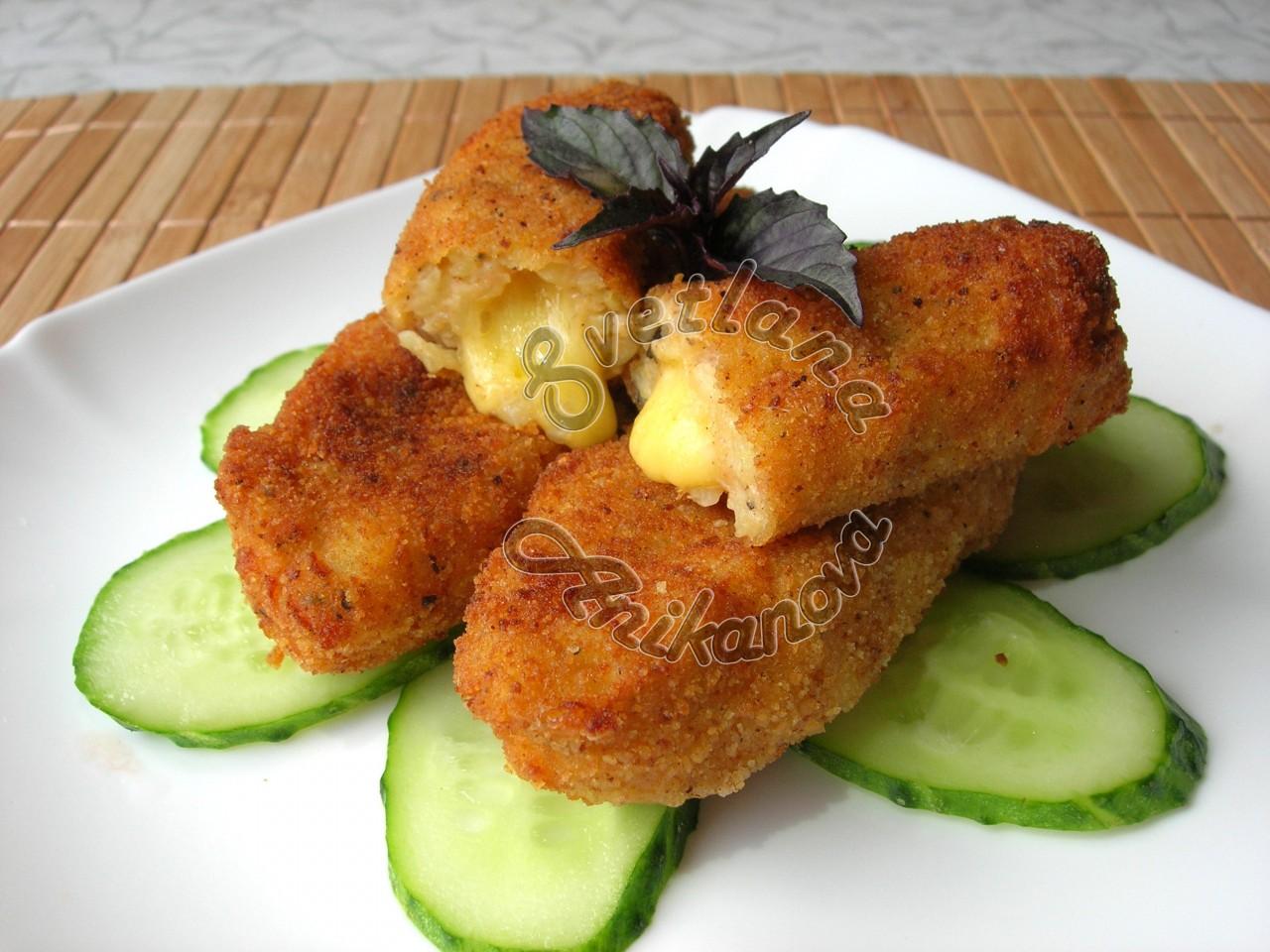 Картофельные Палочки с Сыром…