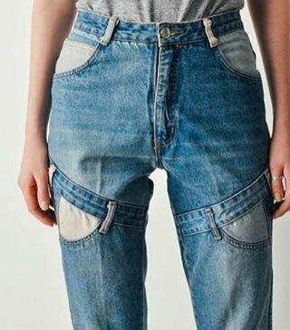 Модные направления в отделке джинсов идеи и вдохновение,мода,одежда