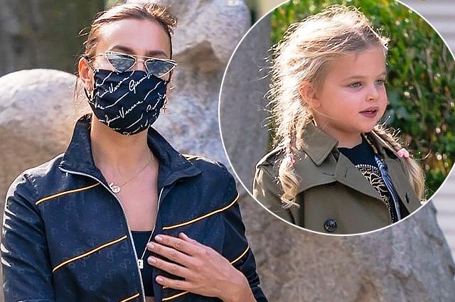 Ирина Шейк на прогулке с дочерью Леей в зоопарке: новые фото Звездные дети