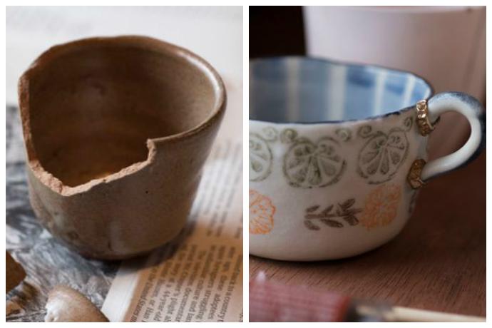 Японское искусство Кинцуги или как починить то, что разбилось
