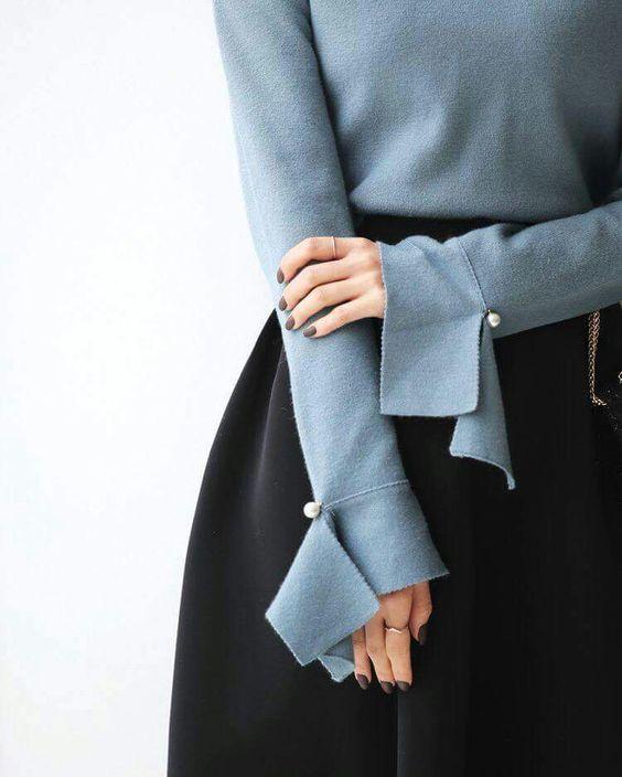 28 изумительных идей оформления манжеты и рукавов