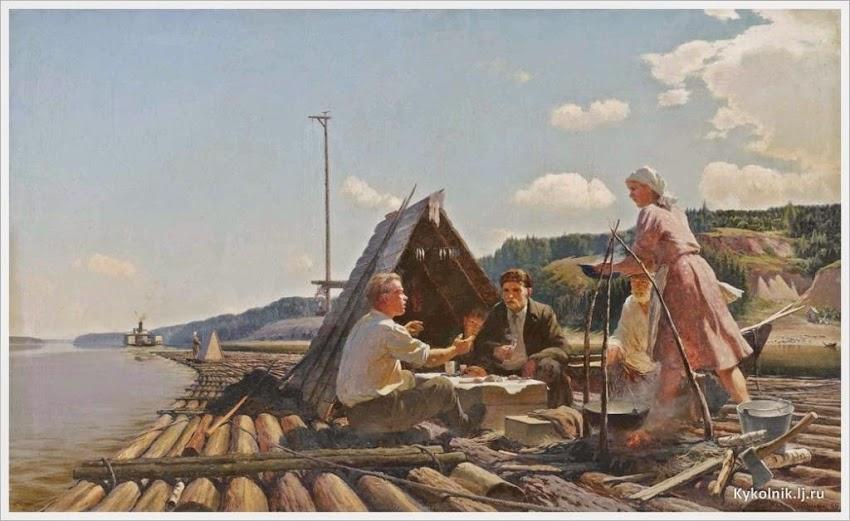 Трудяги-реки СССР: над каждой картиной сидеть и плакать «было, было, и это было...»