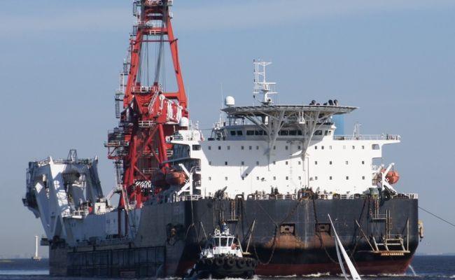 «Фортуна» вытянула «Северный поток-2» в немецкие воды геополитика