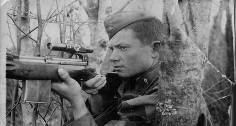 О превосходстве советских снайперов