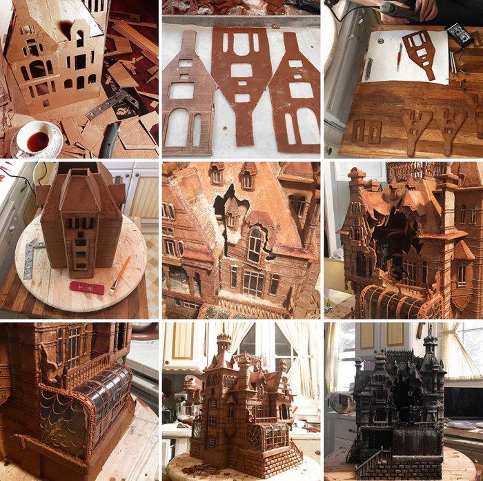 Пряничный домик, ставший точной копией особняка из нового фильма Тима Бёртона «Дом странных детей Мисс Перегрин»