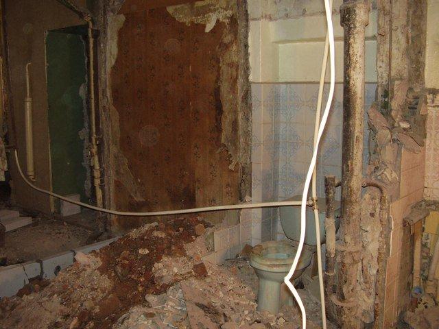 квартира на 1 этаже канализация
