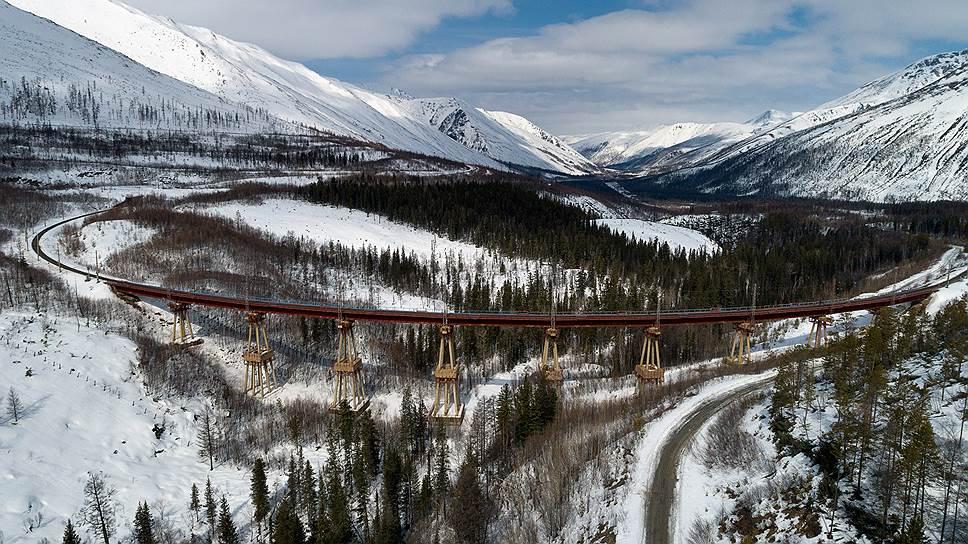 Чертов мост - уникальное инженерное сооружение на обходном пути через Северо-Муйский хребет