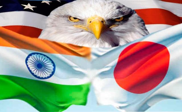 Трамп собирается создать антикитайский союз Вашингтон-Дели-Токио