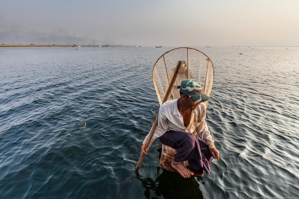 Рыбалка на Инле