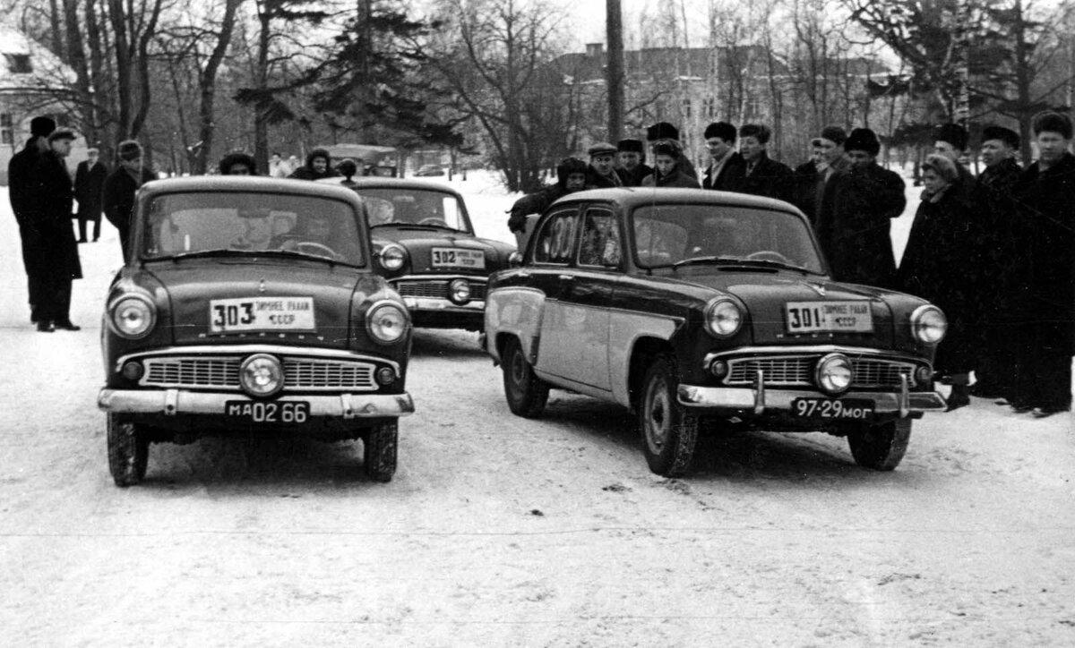 Назад в СССР: как ездили водители зимой, если зимних шин не было