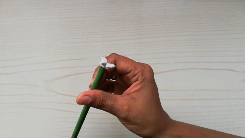 Как сделать красивый букет для дома из неожиданного материала интерьер,переделки,рукоделие,сделай сам