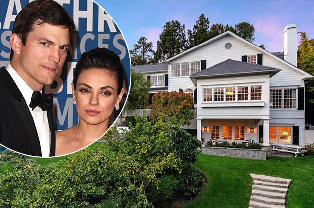 Мила Кунис и Эштон Катчер продают свой особняк в Беверли-Хиллз за 14 миллионов долларов