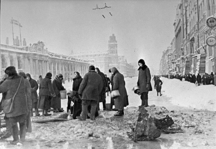 МО РФ рассекретило документы, связанные с блокадой Ленинграда