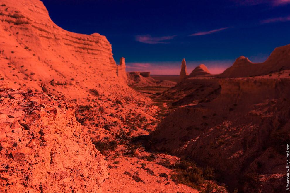 Путешествие на красную планету