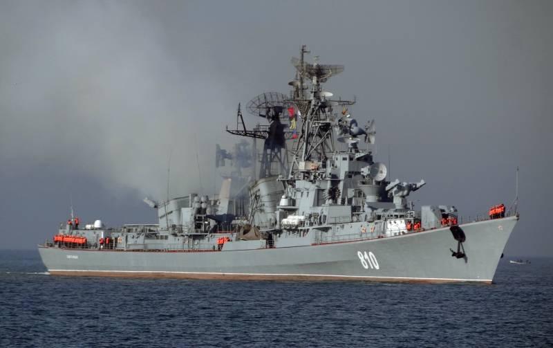 Военный флот России. Грустный взгляд в будущее: отечественные эсминцы
