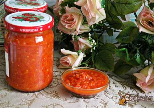 Острый томатный соус со слад…