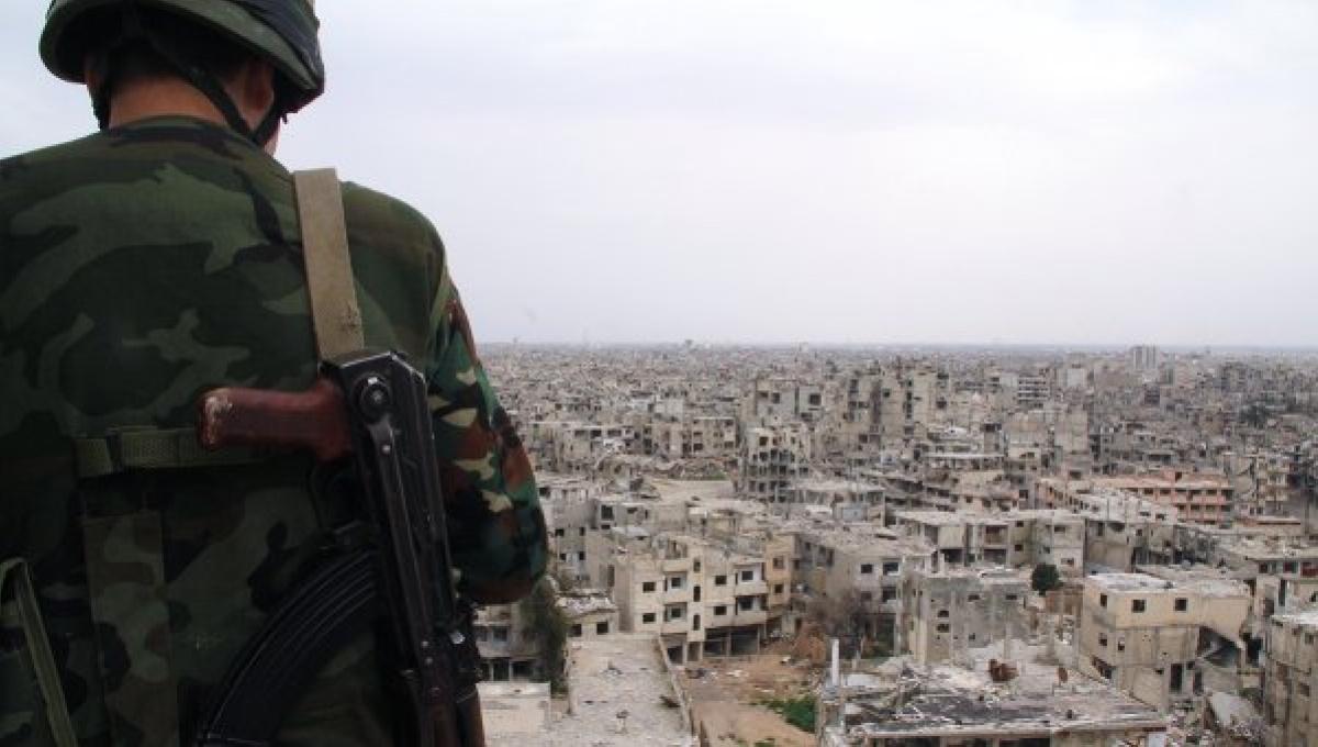 Сирийский разведчик успешно …