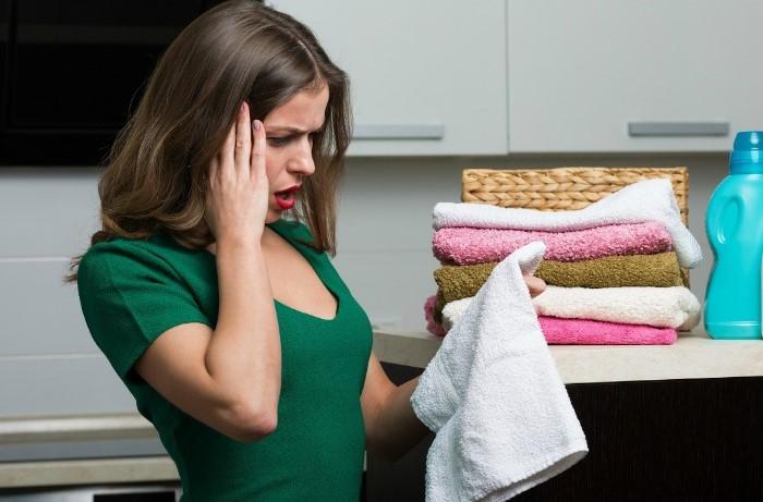Наслаждайтесь белоснежными и мягкими полотенцами как можно дольше.