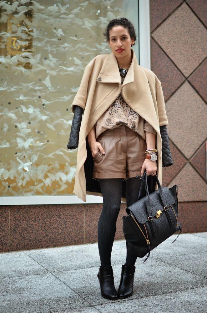 17 способов носить шорты в холодное время года, фото № 2