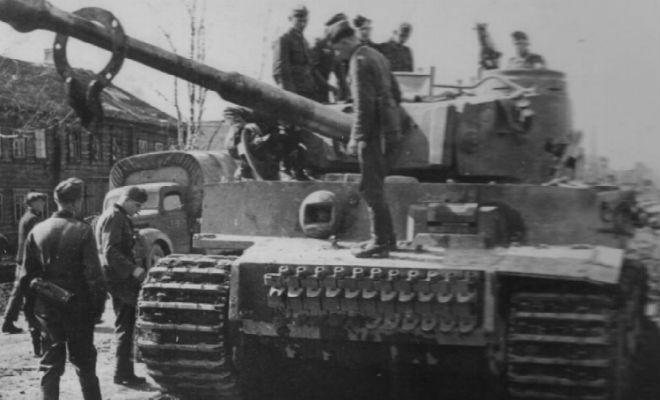 Смекалка советских солдат против немецких Тигров: как боролись с непобедимыми танками вермахт,вторая мировая война,история,красная армия,Пространство,танк,тигр