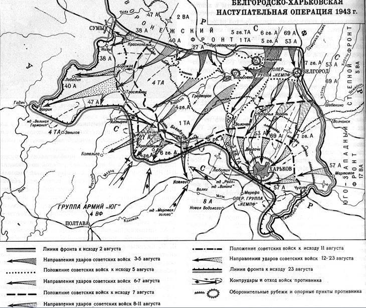 Харьковское сражение. Август 1943 года. Освобождение Харькова история