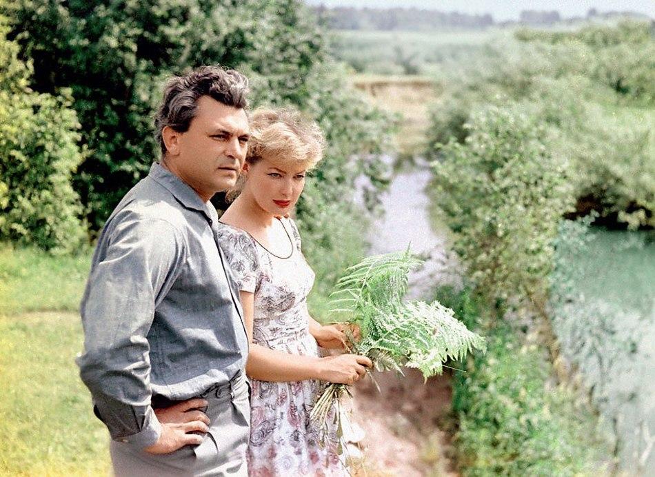 Советские красавицы актрисы с мужьями