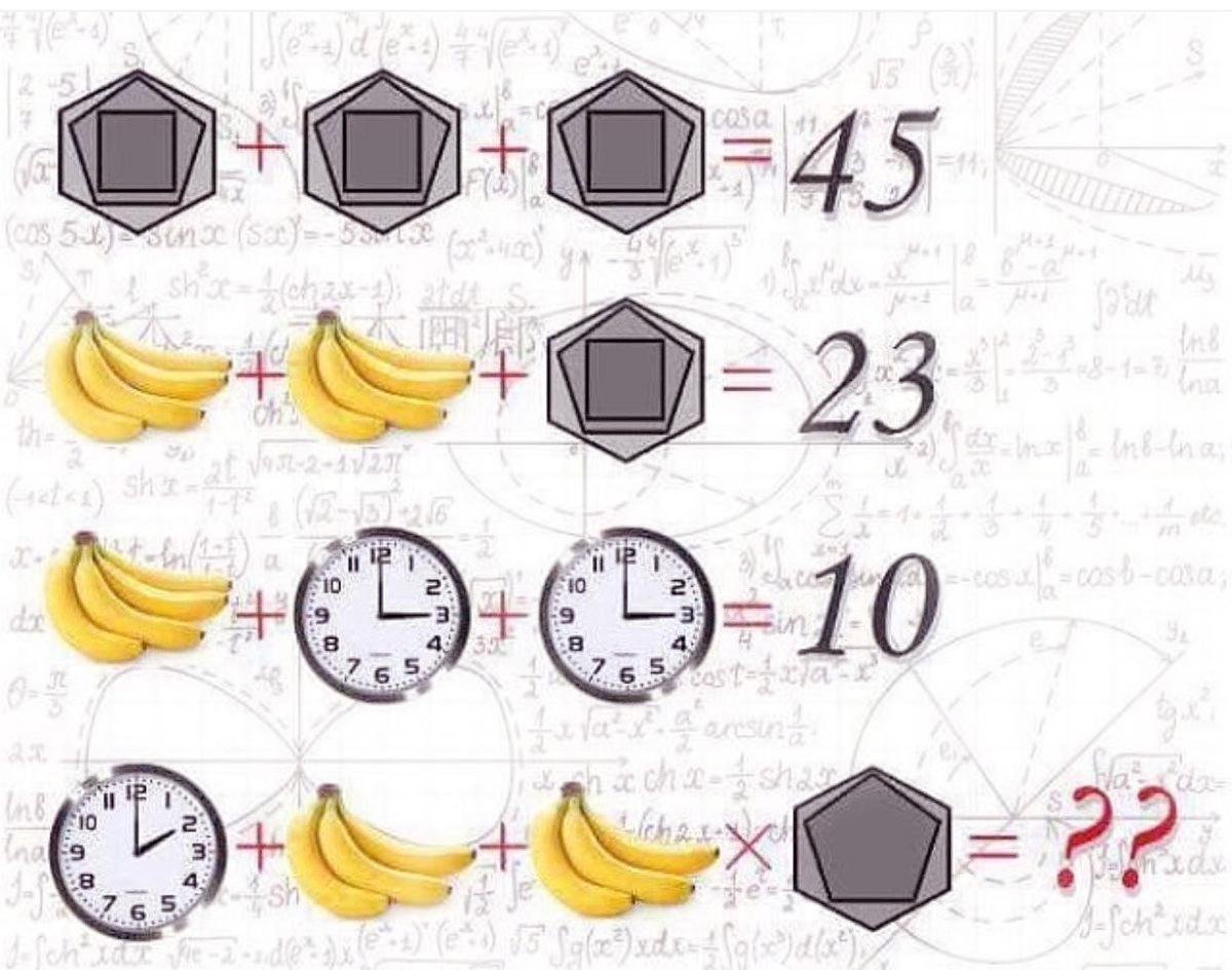 услугам задачка в картинках на логику с бананом и часами очень старалась, зрители
