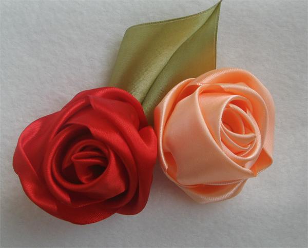 original Сделать своими руками розу канзаши