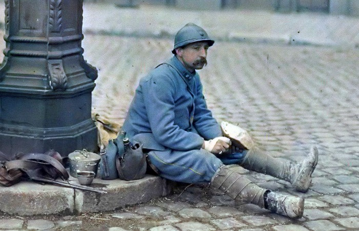Первая мировая война в цвете: 25 колоризированных фотографий начала XX века