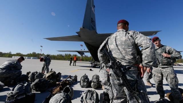 В Эстонию прибыло подразделение из Великобритании в рамкам расширения НАТО