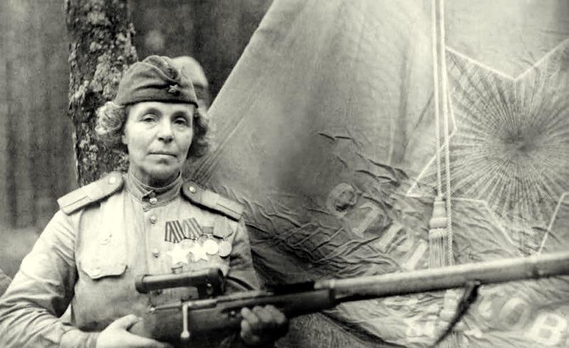 Пошла на фронт в возрасте близком к пенсии и стала полным кавалером ордена Славы