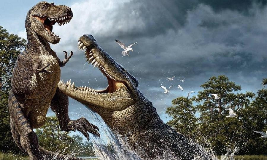 Опасные животные древности, которые к счастью остались в прошлом