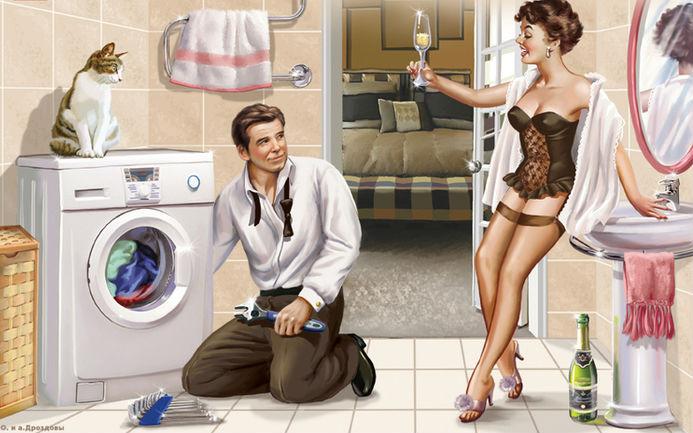 Сантехник и женщина — 10