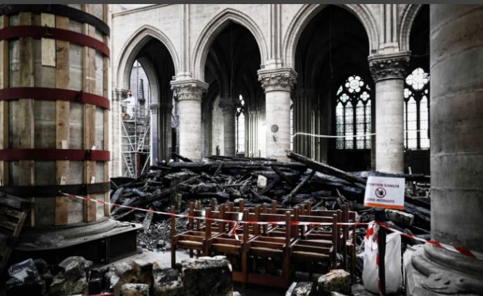 Как идет восстановление Нотр-Дам де Пари после пожара