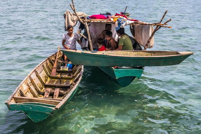 Жизнь «морских цыган» баджо