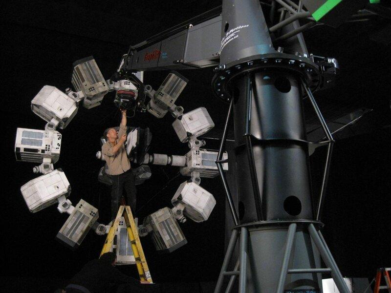 Модель космического корабля, показанная в киноленте «Интерстеллар» интересно, кино, киносъемки