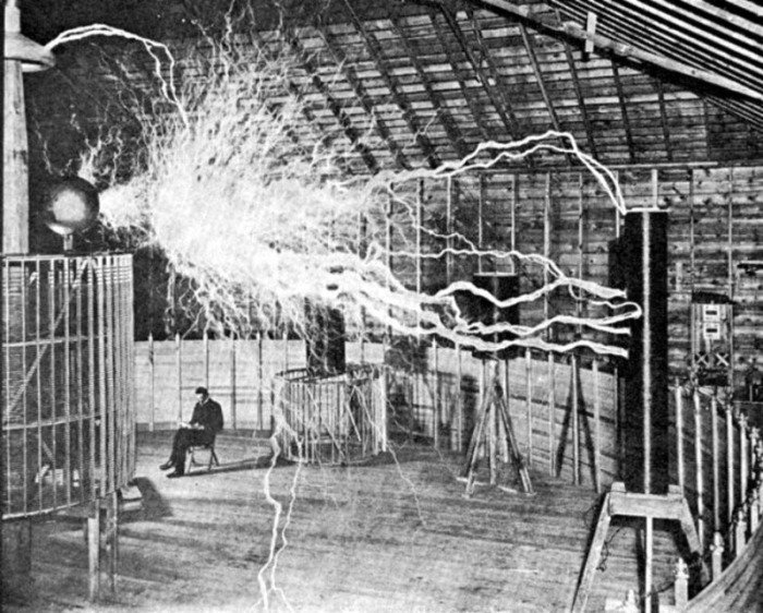 5. Луч смерти Теслы изобретение, никола тесла, технологии будущего, электричество