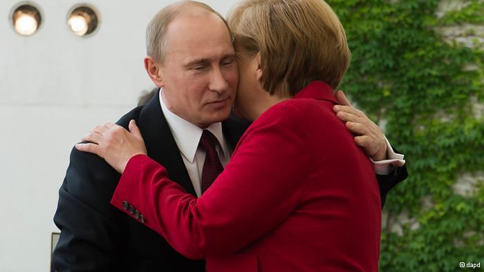 Письмо Меркель к Путину.