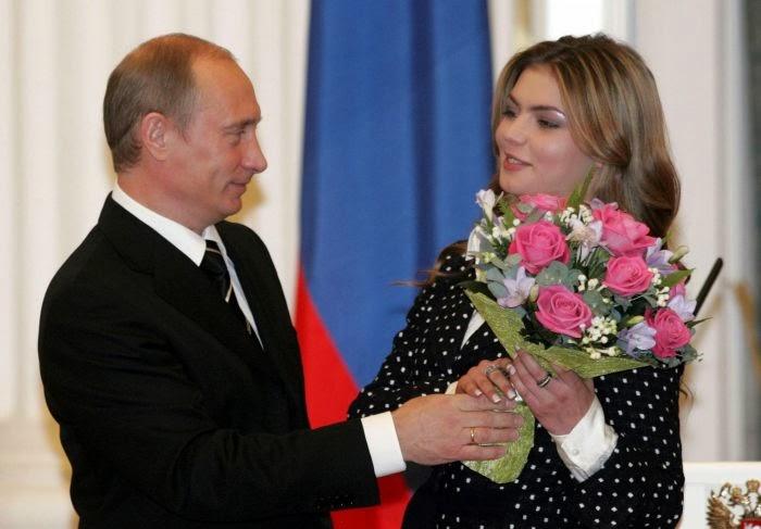 Газета Daily Mail опубликовала фото предполагаемой тайной семьи Путина