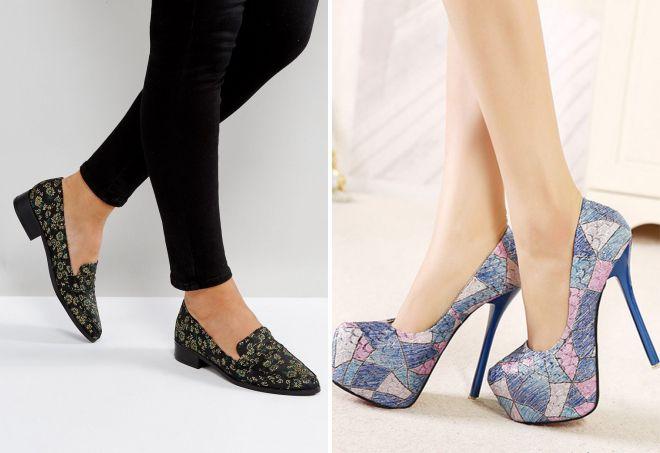 модные женские туфли весна 2018