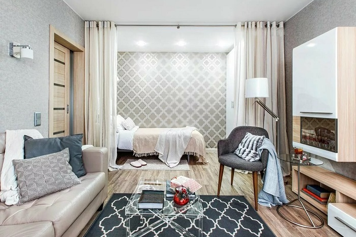 Как обустроить маленькую квартиру без перепланировок и сноса стен идеи для дома,интерьер и дизайн