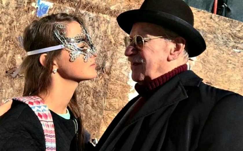 86-летний Иван Краско увез свою 26-летнюю супругу в Венецию