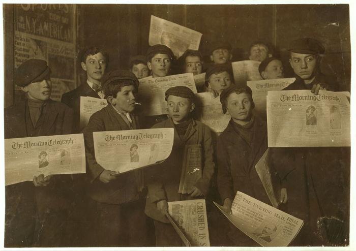 Как жилось детям 100 лет назад: Ретро фотографии времён индустриальной революции