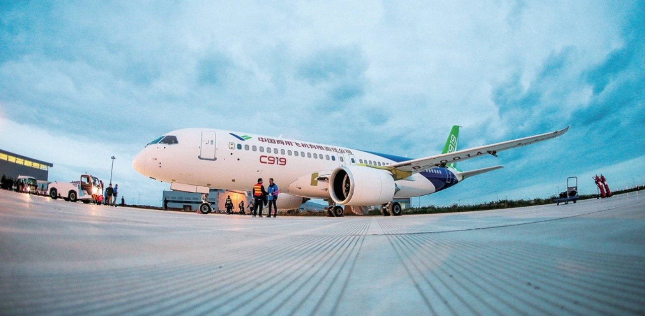 Заказы на китайский пассажирский авиалайнер C919 перевалили за 800
