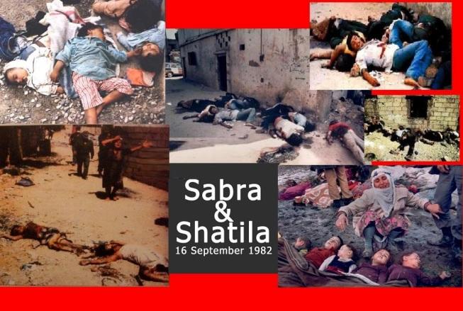 """Сионистское зверство: Резня """"Сабра и Шатила"""" (Фото 18+)"""