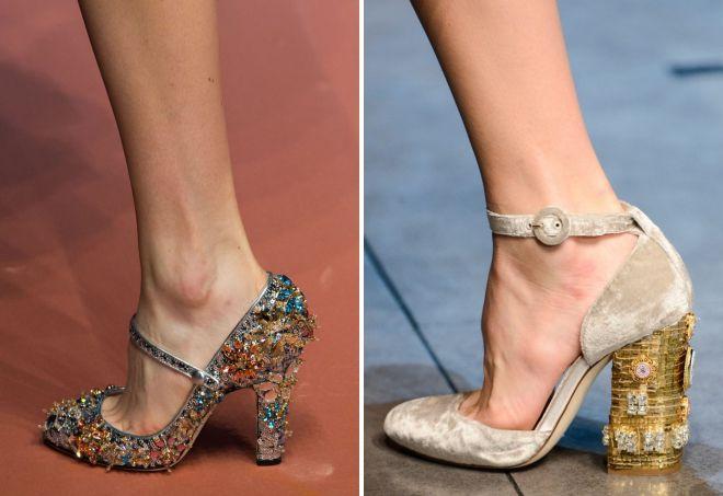 модные туфли весна 2018 женские тренды