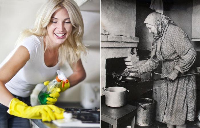 Средство для чистки плит: современные формулы VS бабушкины рецепты